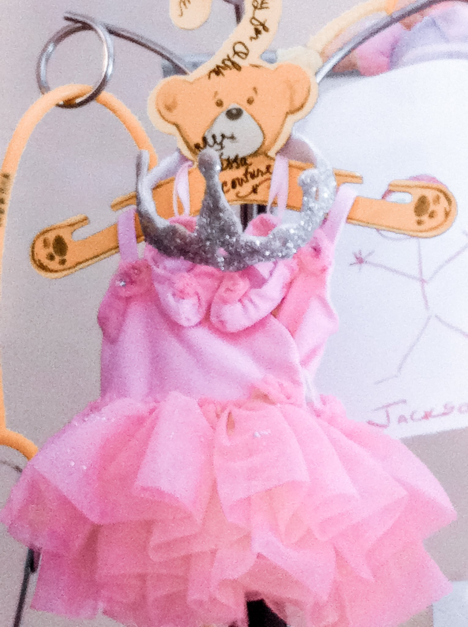 Olive's Halloween costume made with love by Nurse Jessa.